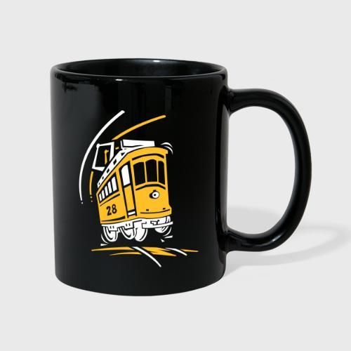 Tramway 28 cartoon Lisbonne - Mug uni