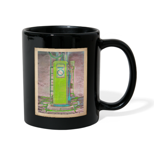 Vintage gas station - Full Colour Mug