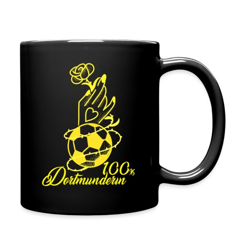 100% Dortmunderin - Tasse einfarbig
