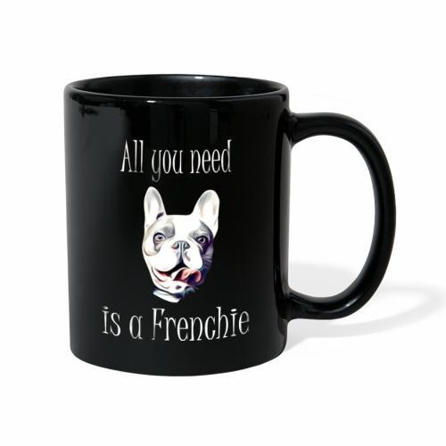 Französische Bulldogge T-Shirt Frenchie - Tasse einfarbig