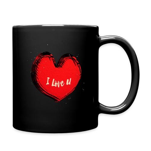 I love U - Full Colour Mug