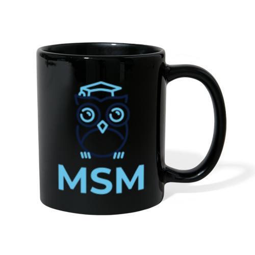 MSM UGLE - Ensfarvet krus