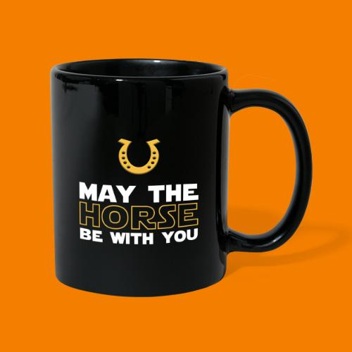 May the horse be with you - Enfärgad mugg