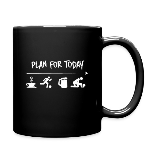 plan for today football - Mug uni