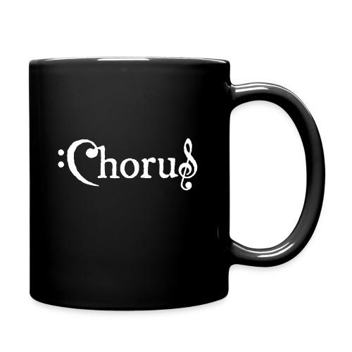 Chorus Kör Logo Vit EPS - Enfärgad mugg