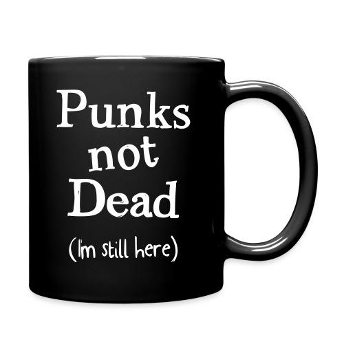 punks not dead - Enfärgad mugg