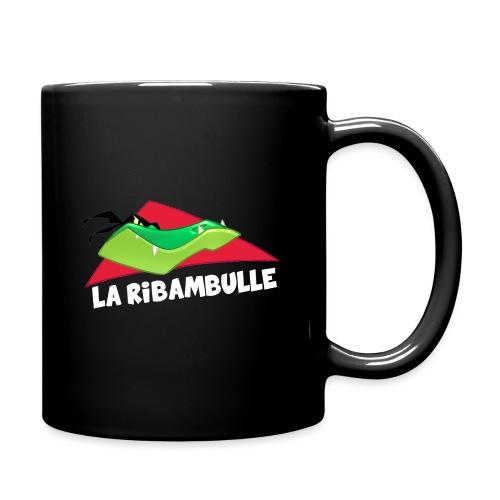 laRibambulle logoHD blanc png - Mug uni