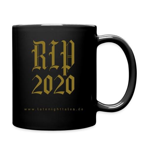 RIP 2020 - GOLD - Tasse einfarbig