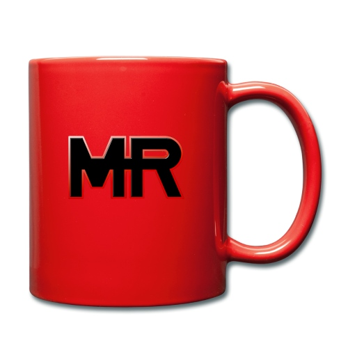 MR logo - Ensfarvet krus