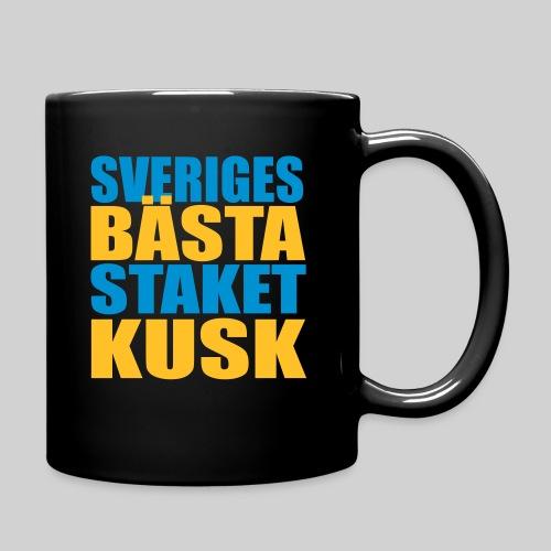 Sveriges bästa staketkusk! - Enfärgad mugg