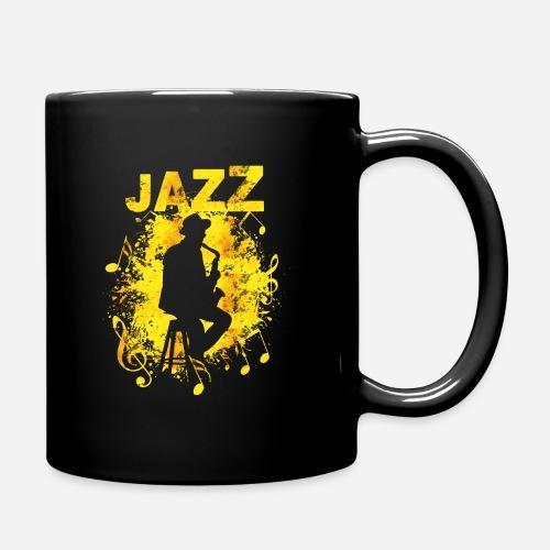Jazz Saxophonist - Tasse einfarbig
