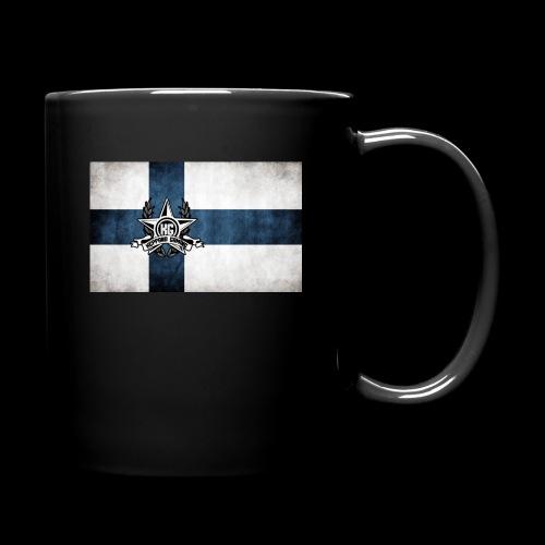 Suomen lippu - Yksivärinen muki