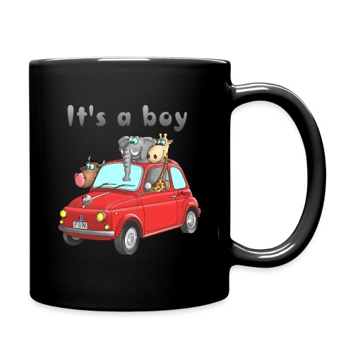 It's a boy - Baby - Cartoon - lustig - Tasse einfarbig