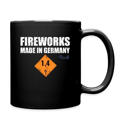 Feuerwerk aus Deutschland Pyrotechnik - Tasse einfarbig