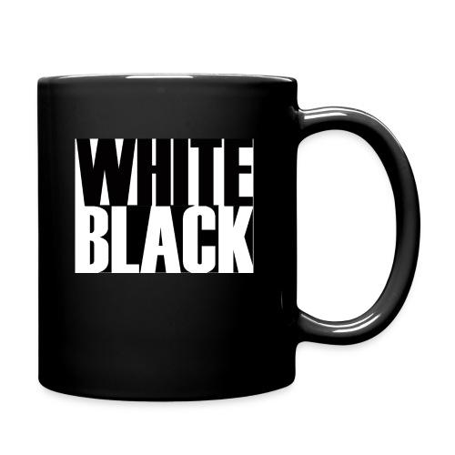 White, Black T-shirt - Mok uni