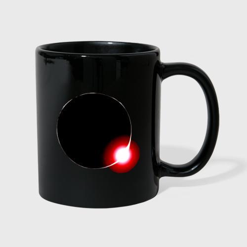 QE Logo Brust rund - Tasse einfarbig