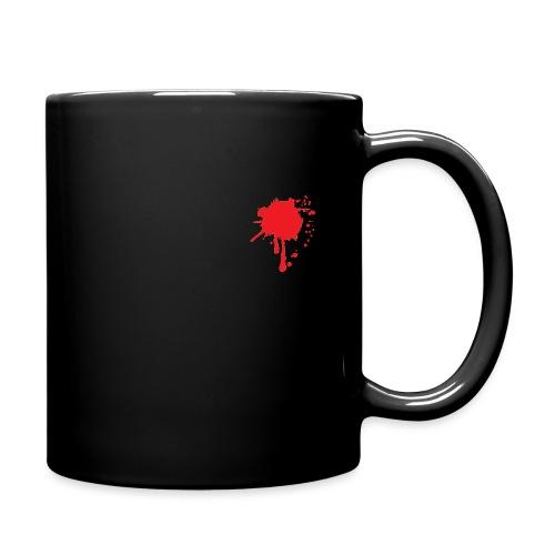 BloodSplatter01a - Tasse einfarbig
