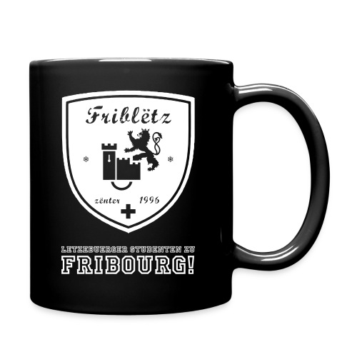 Fribletz Logo Letz Stud z Frib - Tasse einfarbig