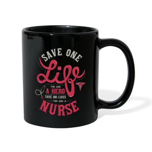 Vintage hero nurse - Yksivärinen muki