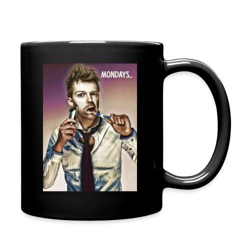 Rush hour on monday - Full Colour Mug