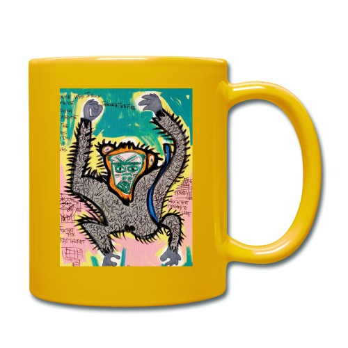 the monkey - Tazza monocolore