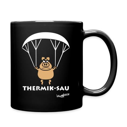 ThermikSau_braun - Tasse einfarbig