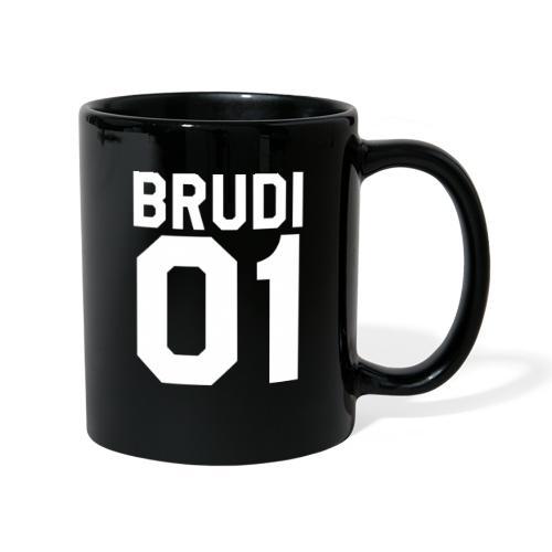 Brudi 01 Geschwister Beste Freunde Partnerlook - Tasse einfarbig