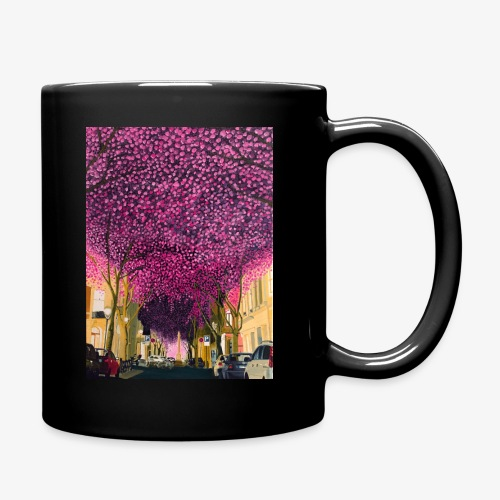 A street at night - Full Colour Mug