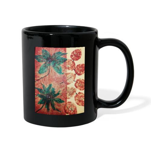 Herbstblumen - Tasse einfarbig