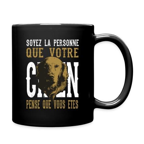 Un amour de chien - Mug uni