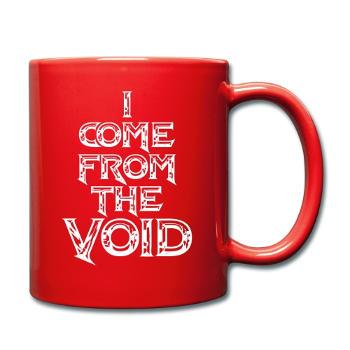I Come From The Void White - Full Colour Mug