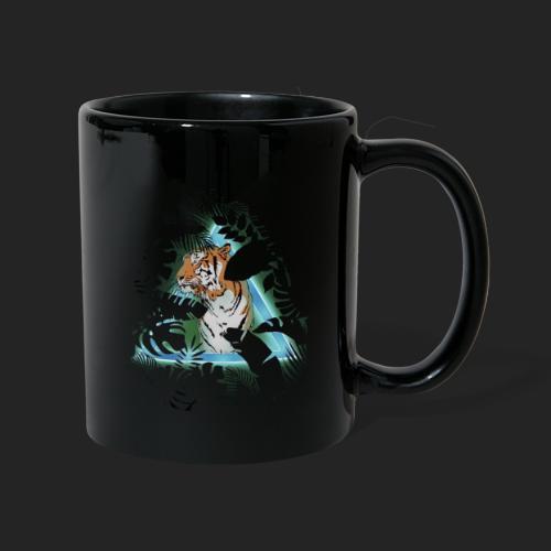 Tigre en soirée - Mug uni