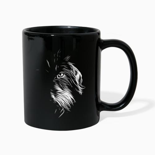 Wilder Dackel - Rauhaardackel - Hund - Tasse einfarbig