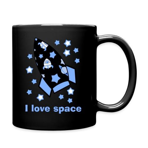 I love space - Tazza monocolore