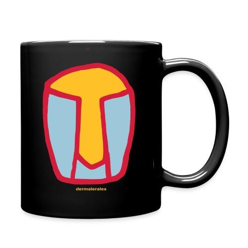 kopf abstrakt - Tasse einfarbig