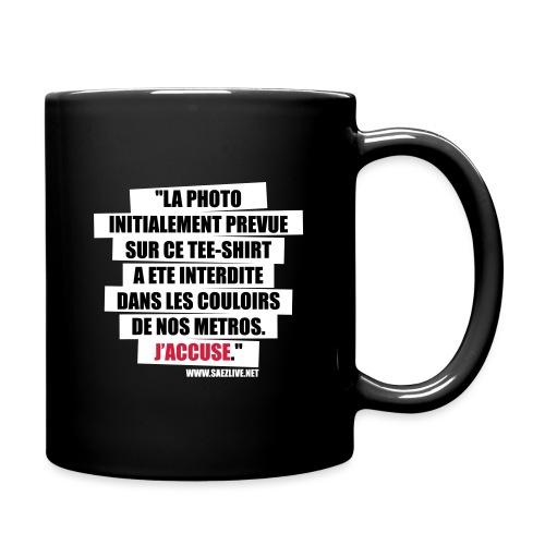 J'accuse - Mug uni