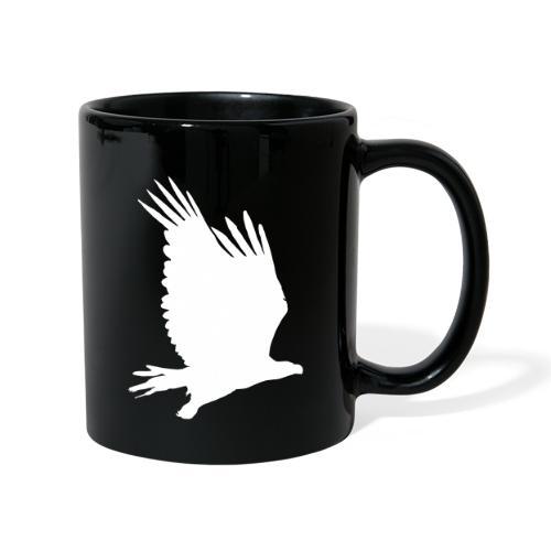 Tirolerbergluft pur (großer Adler) - Tasse einfarbig