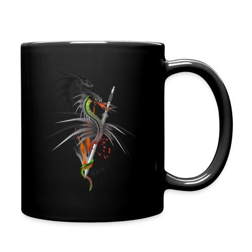 Dragon Sword - Drachenkampf - Tasse einfarbig