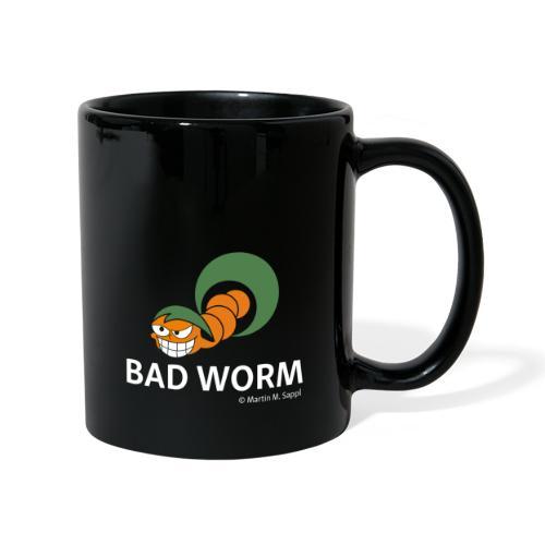 Bad worm - Tasse einfarbig