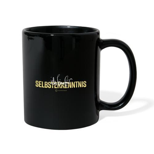 Selbsterkenntnis - Tasse einfarbig