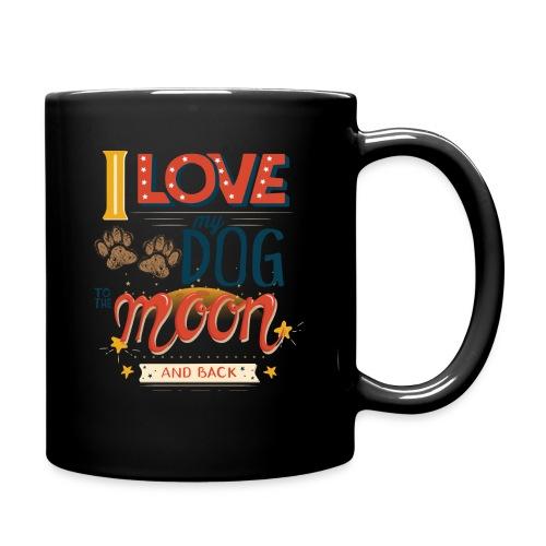 Moon Dog Light - Enfärgad mugg