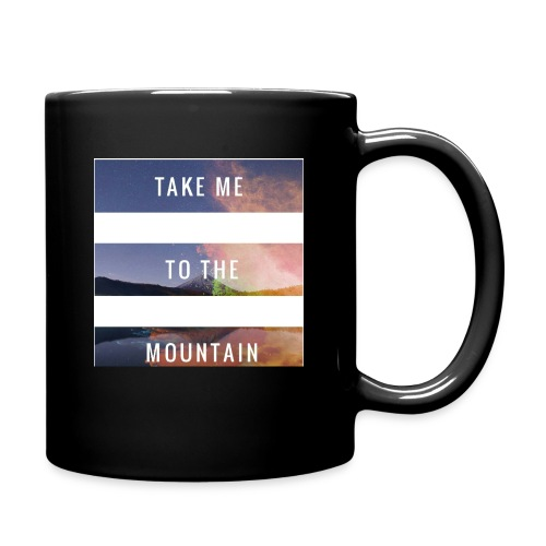 Take me to the mountain - Taza de un color