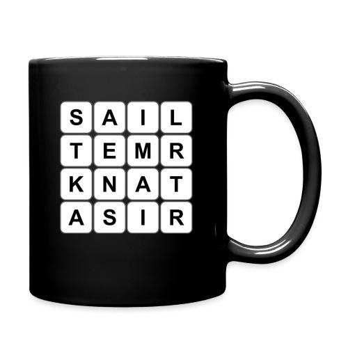Grille 530 mots - Lettres verticales - Mug uni