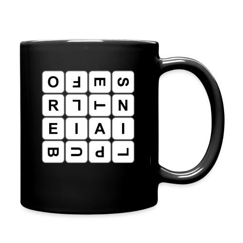 Grille 493 mots - Lettres tournées - Mug uni