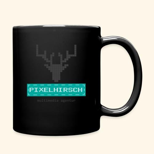 PIXELHIRSCH - Logo - Tasse einfarbig