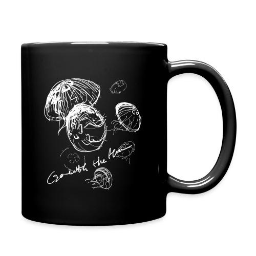 Go with the flow - Full Colour Mug
