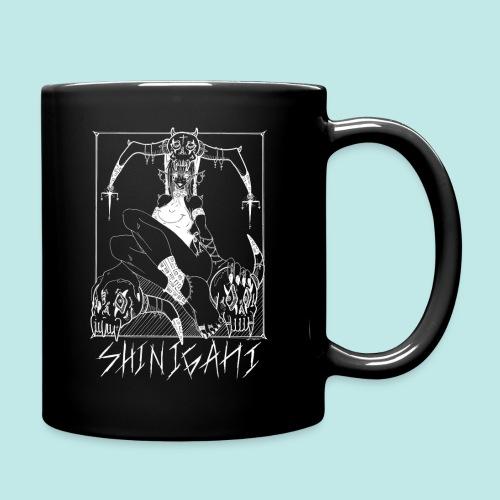Femme elfe crâne mort dark rock Blanc - Mug uni