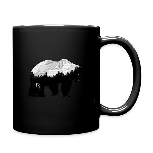 Geometric Mountain Bear - Tazza monocolore