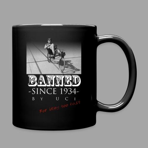 Recumbent Bike Banned since 1934 - Yksivärinen muki
