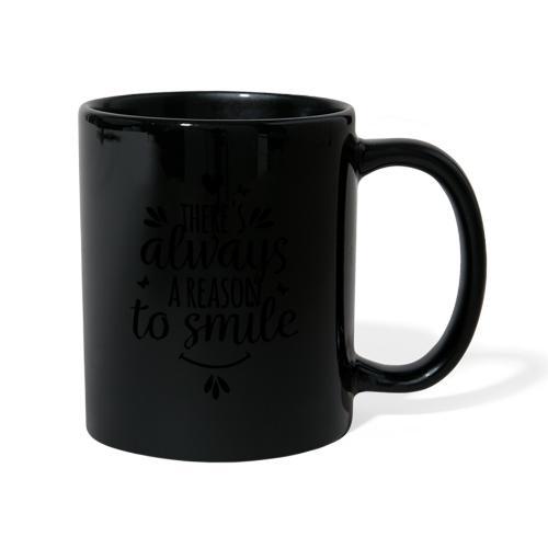Siempre hay una razón para sonreír - Taza de un color